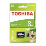 Karta Micro-Sd Hc 8Gb+Adapter Sd Toshiba
