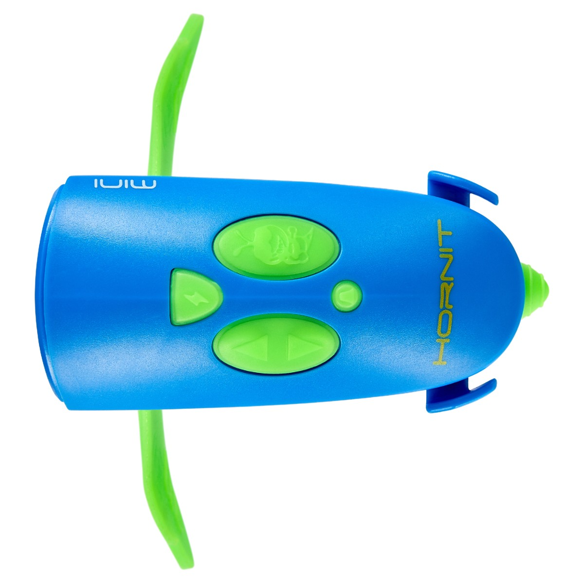 Mini HORNIT lampka klakson GREEN - BLUE