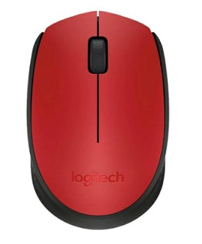 Mysz Logitech M170 Wireless - Red