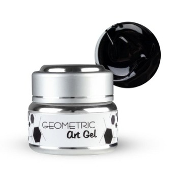 Żel EF Geometric Art Gel 5g Black