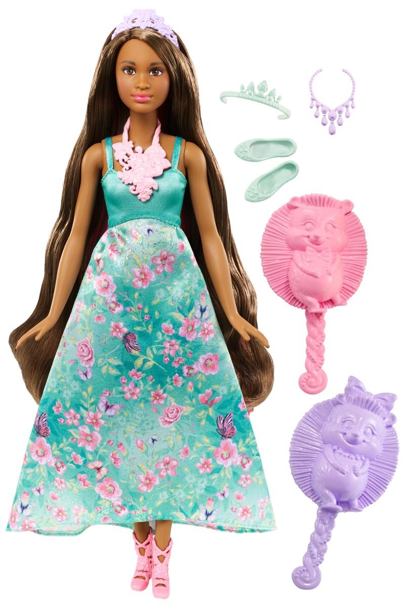 Lalka Barbie Księżniczki Kolorowe Fryzury Dwh4 Sklepalf
