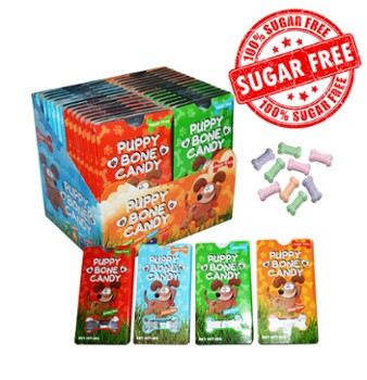 Puppy Bone Candy bez cukru 10g /30/