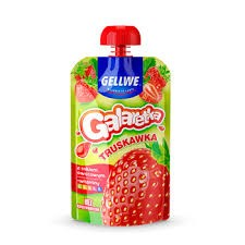 Gellwe Jelly galaretka strawberry 90g/10