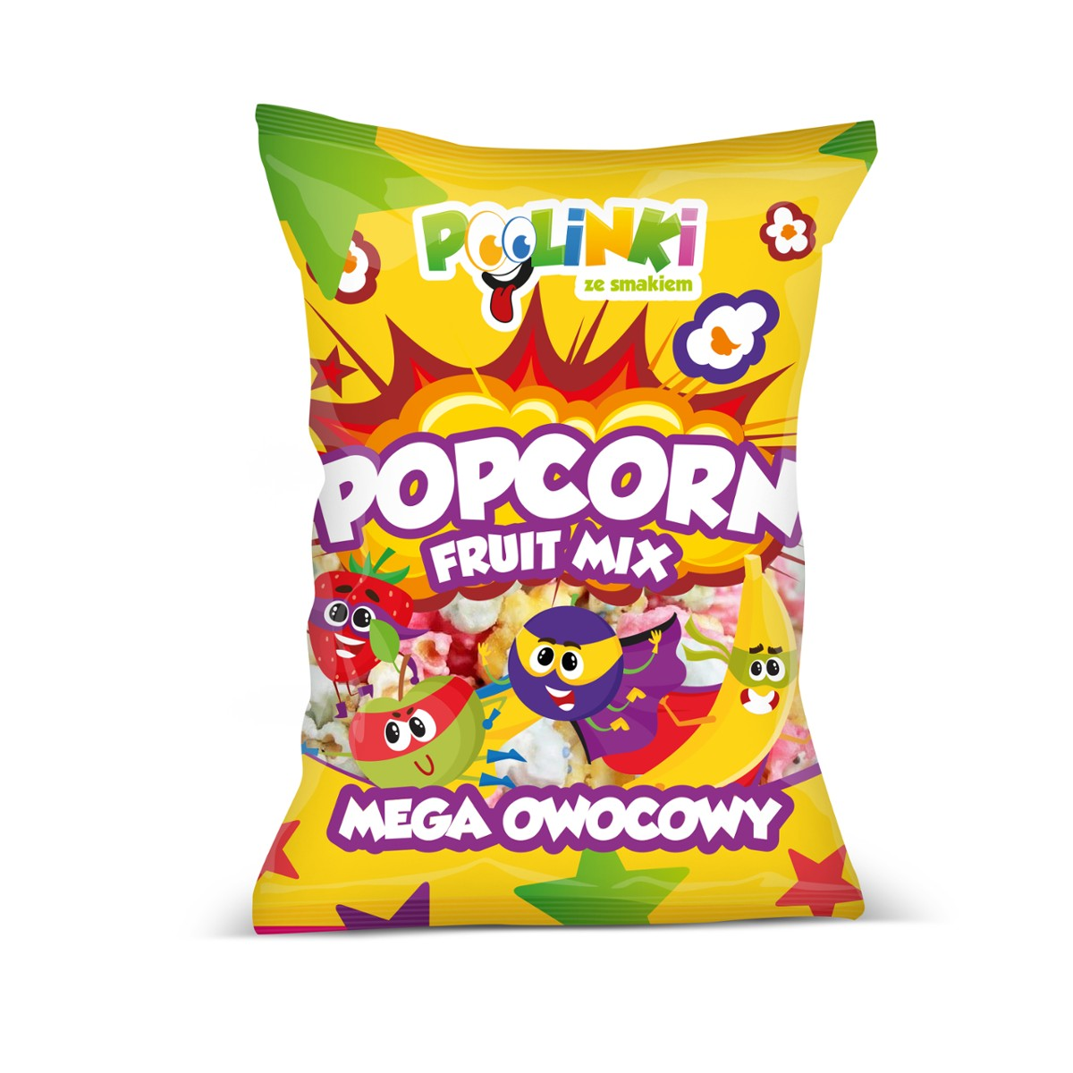 Popcorn POLINKI 70g Fruit Mix /17/