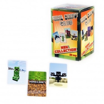 Karta plastic Mine Craft /50/