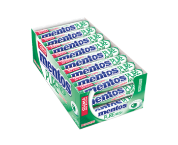 Mentos Pure Fresh 15,5g spearmint /24/