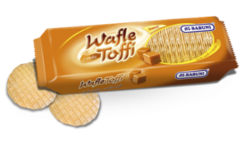 As-Babuni wafle toffi 90g /20/