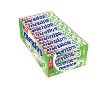 Mentos Pure Fresh 15,5g lime /24/