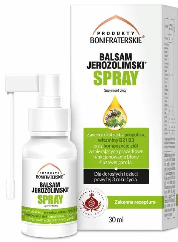 BALSAM JEROZOLIMSKI SPRAY 30 ML