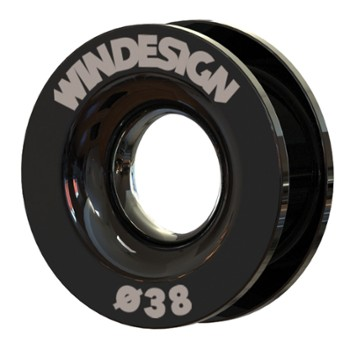 Przelotka 38mm WINDESIGN Low friction