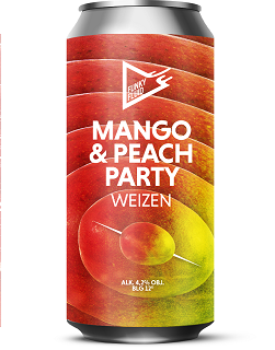 Funky Fluid Mango & Peach Patry 500 ml