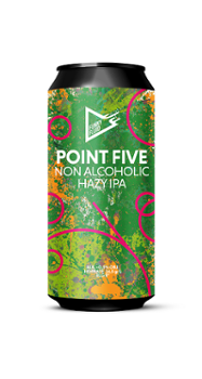 Funky Fluid Point Five Hazy IPA 500 ml