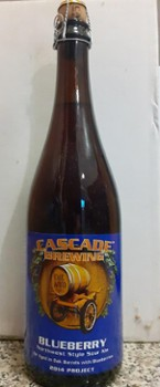 Cascade Blueberry 2014 750 ml