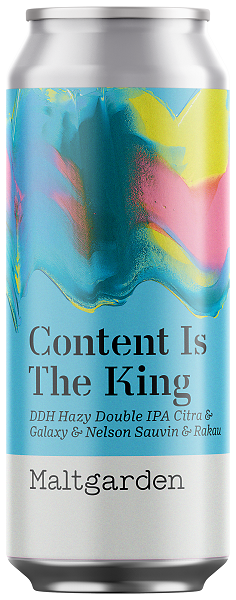 Maltgarden Content Is The King 500 ml