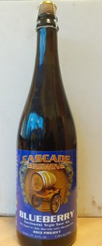 Cascade Blueberry 2013 750 ml