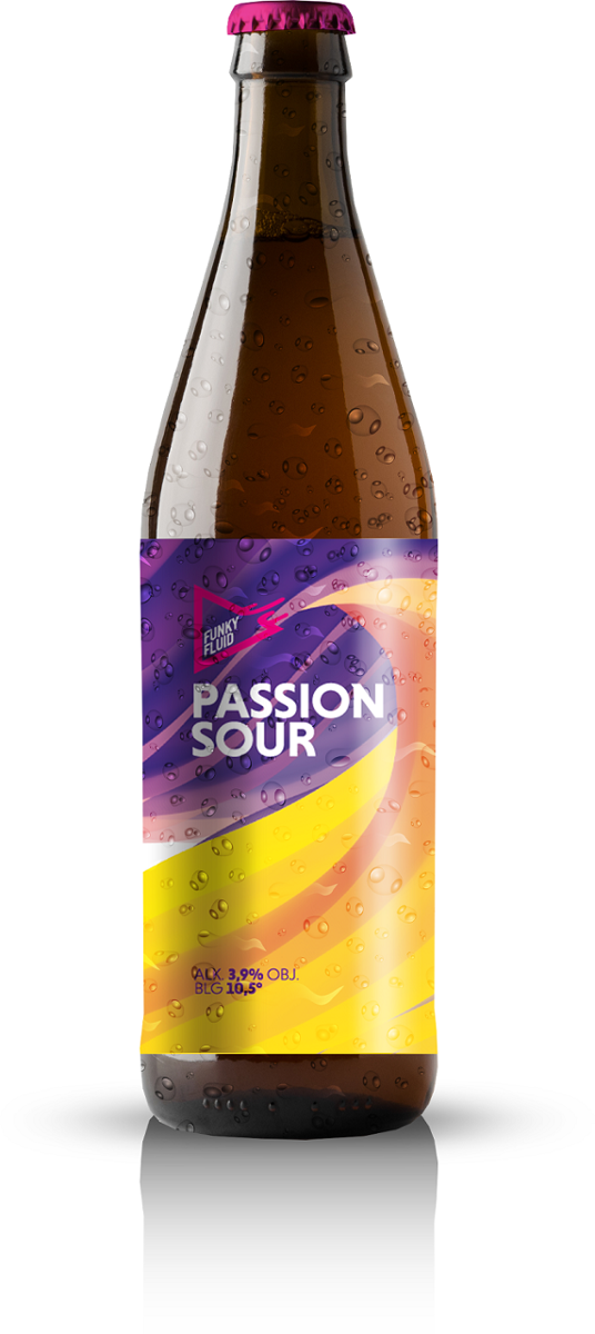 Funky Fluid Passion Sour 500 ml