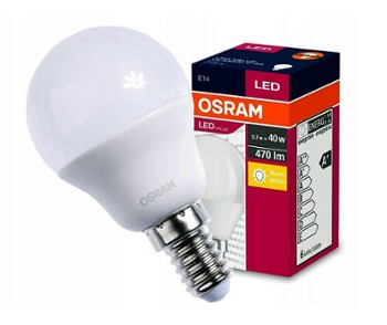 Osram Led Value E-14/5W/827 kulka