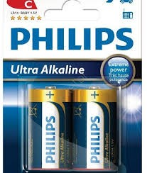 Bateria PHILIPS R14 POWER LIFE alk.