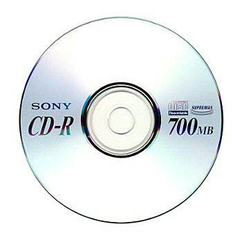 CD-R SONY 80min./700 MB