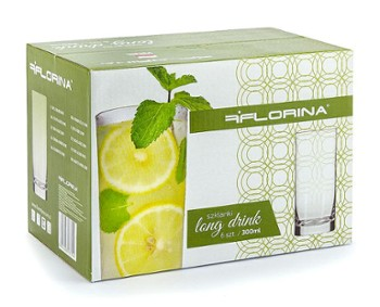 Szklanki do napoju Florina 6szt 300ml