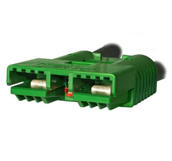 Anderson SBE320 Green E6353 connector housing (2-8171G4)