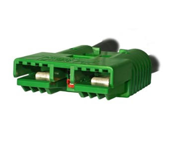 Anderson SBX350 Connector housing 6353 Green