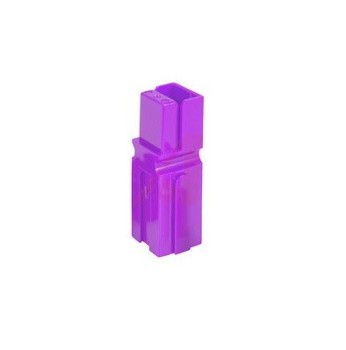 Anderson Powerpole Connector housing 1327G23 - PP15 to PP45 - Purple