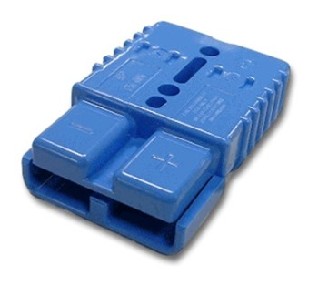 Multipole connector housing Anderson SB120 - blue