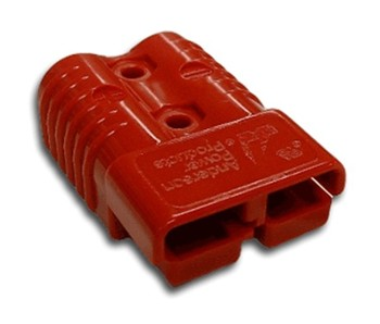 Multipole connector housing Anderson SB350 Red 913