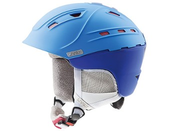 Kask UVEX P2US WL 55-59 blue-red mat