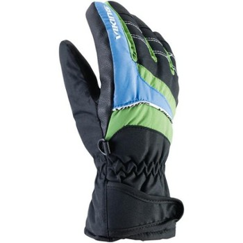 Rękawice Viking Kid 3 black-blue-green