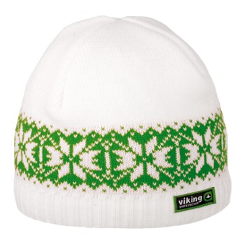 Czapka Viking Regular Uni white-green