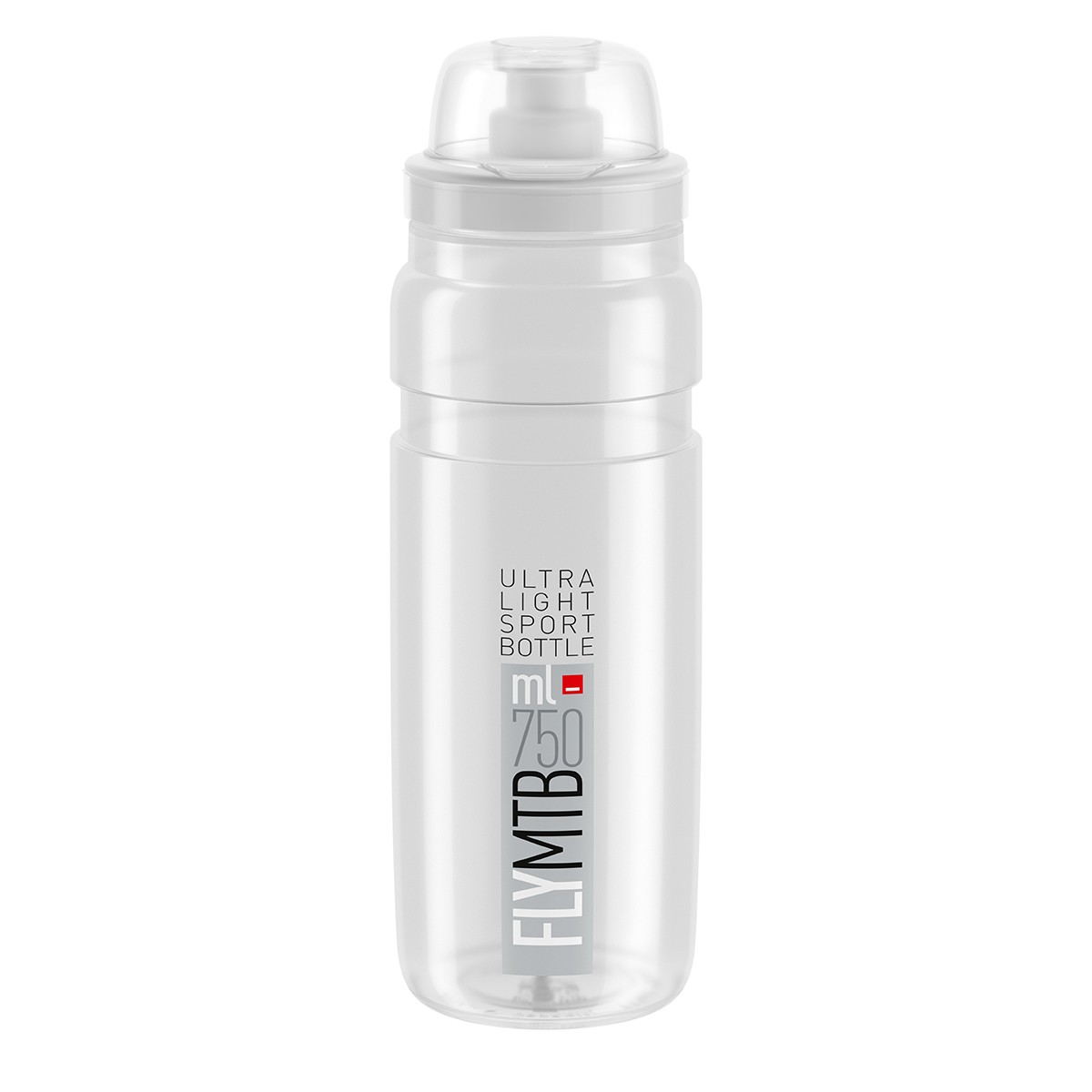 Bidon Elite Fly MTB 750ml clear