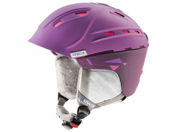 Kask UVEX P2US WL 51-55 fioletowy mat