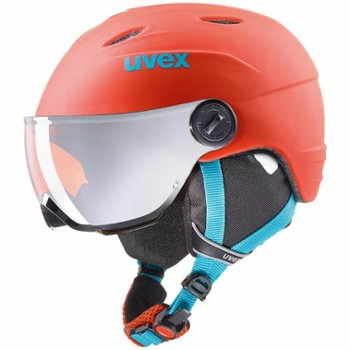 Kask Uvex Junior Visor Pro 52-54 orange