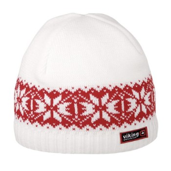 Czapka Viking Regular Uni white-red