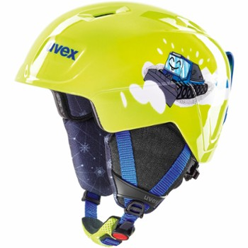 Kask Uvex Manic 46-50cm limonkowy