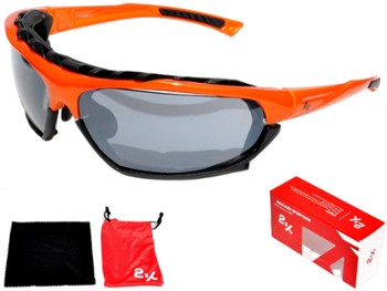 Okulary 2K SB-12233 orange ANTIFOG