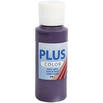 Farba PLUS Color 60 ml Bakłażanowa