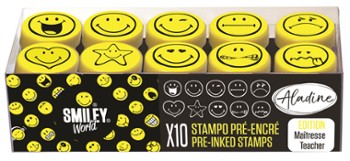 Stemple Easy Smiley Emotki 10 szt.
