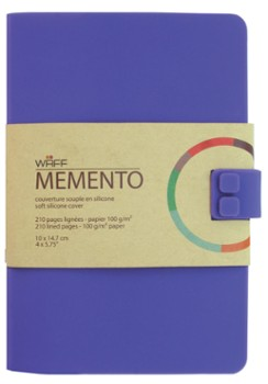 WAFF MEMENTO notes A6 Fioletowy