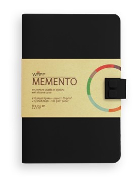 WAFF MEMENTO notes A6 Czarny
