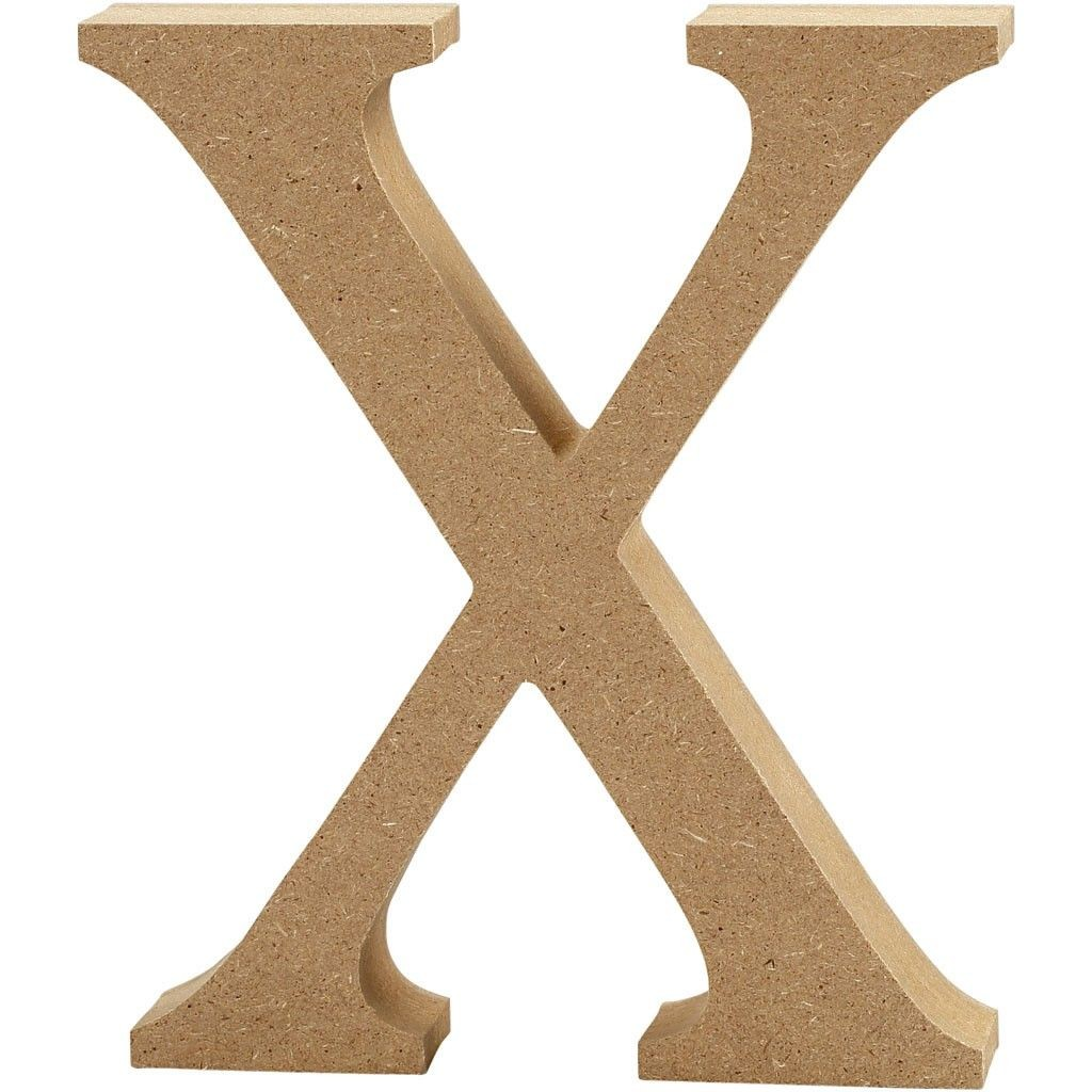 Litera X Z Mdf H 13 Cm Stepp