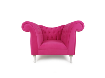 Fotel Chesterfield 1 osobowy Pink