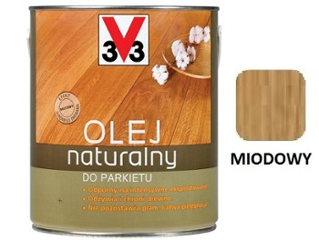 V33 olej natural.do parkietów MIOD.2,5l.
