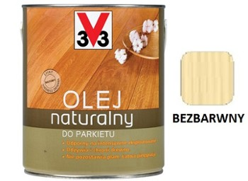 V33 olej natural.do parkietów BEZB.2,5l.