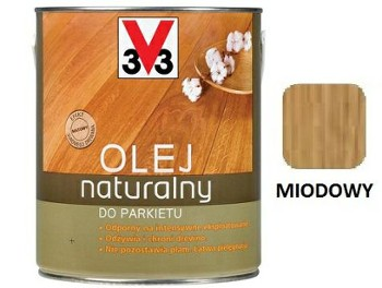 V33 olej natural.do parkietów MIOD. 1L