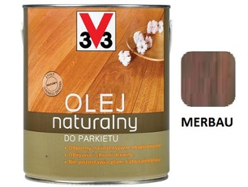 V33 olej natural.do parkietów MERB.2,5l.