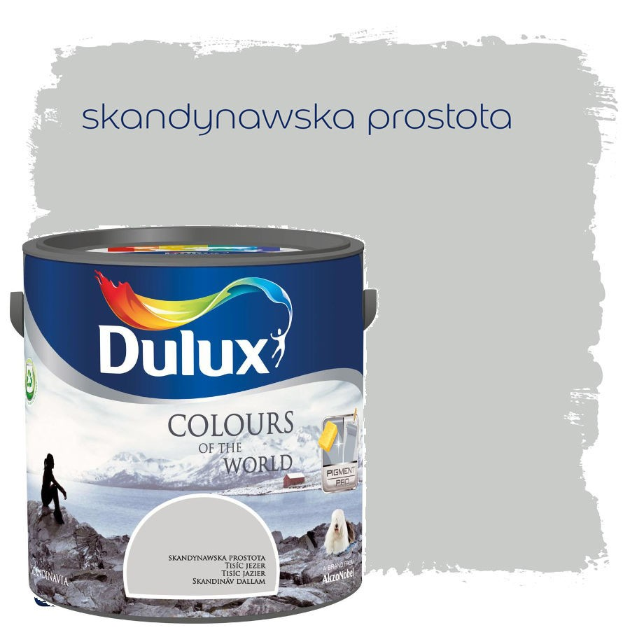 Dulux Kolory świata 25l Skandynawska Prostota Tarti