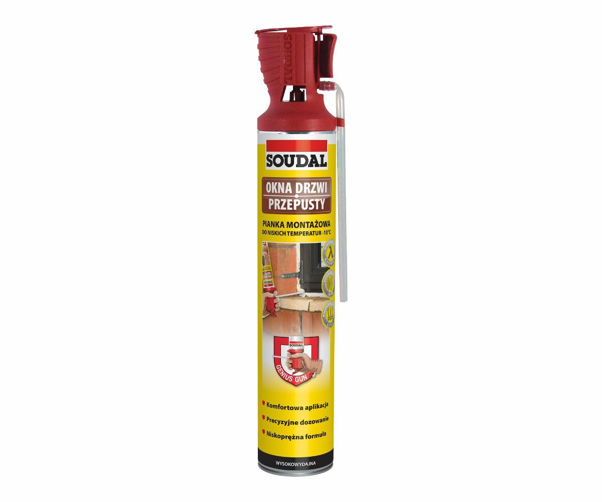 SOUDAL piana do niskich temperatur -10.C